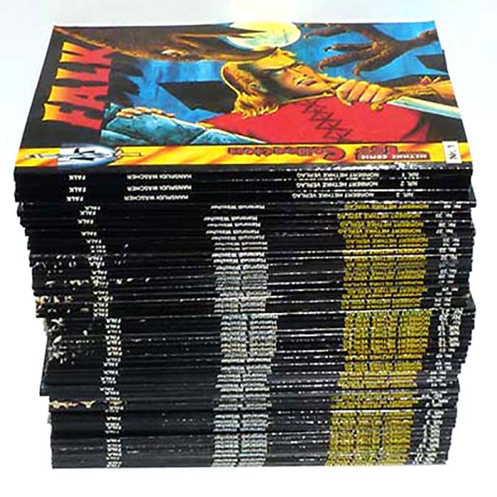 Falk, Hethke Comic Top Collection, 1 - 50