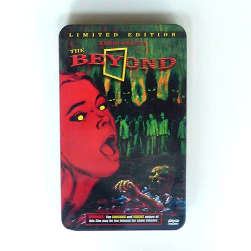 The Beyond, Lucio Fulci, DVD, limited edition