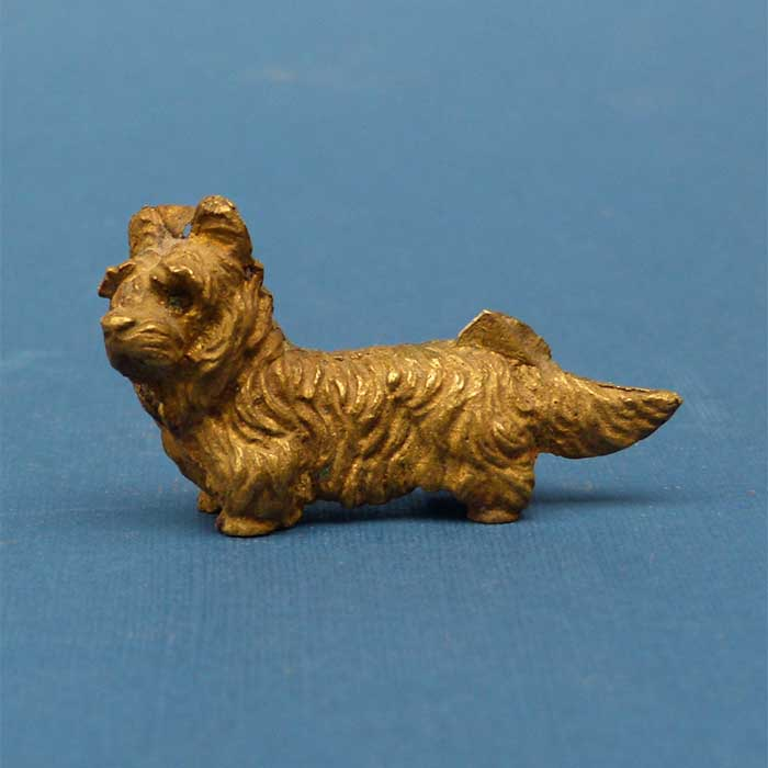 Hund, Wiener Bronze, Scotch Terrier