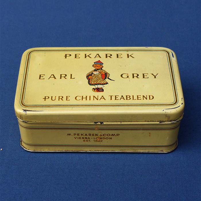 Pekarek Earl Grey, Pure China Teablend, Teedose