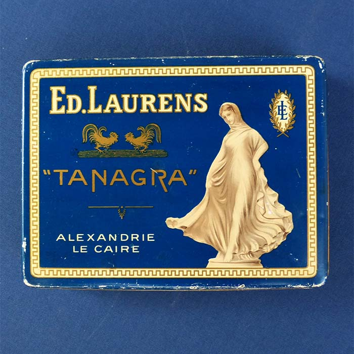 Tanagra - Bout d'or 22 Carats, Zigarettendose